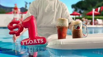 Arby's $1 Floats TV Spot, 'Slurp and Splash' Song by YOGI - Thumbnail 8