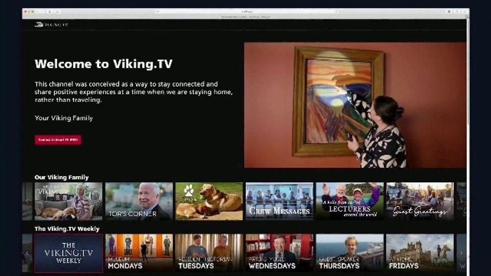 Viking Cruises TV Commercial, 'Masterpiece New MAY Twenty?