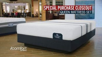 Rooms to Go Mattress Month TV Spot, 'Special Purchase Closeout' Featuring Jesse Palmer