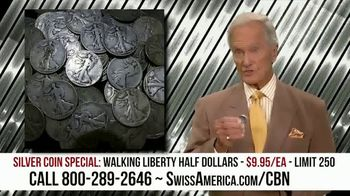 Swiss America Silver Coin Special TV Spot, 'Rediscover Silver: Walking Liberty' Featuring Pat Boone - Thumbnail 7