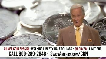Swiss America Silver Coin Special TV Spot, 'Rediscover Silver: Walking Liberty' Featuring Pat Boone - Thumbnail 2