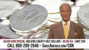Swiss America Silver Coin Special TV Spot, 'Rediscover Silver: Walking Liberty' Featuring Pat Boone - Thumbnail 3