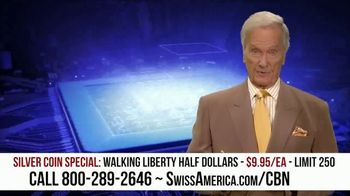 Swiss America Silver Coin Special TV Spot, 'Rediscover Silver: Walking Liberty' Featuring Pat Boone - Thumbnail 4