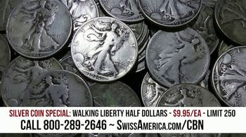 Swiss America Silver Coin Special TV Spot, 'Rediscover Silver: Walking Liberty' Featuring Pat Boone - Thumbnail 5