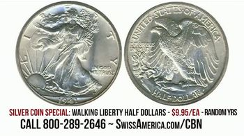 Swiss America Silver Coin Special TV Spot, 'Rediscover Silver: Walking Liberty' Featuring Pat Boone - Thumbnail 6