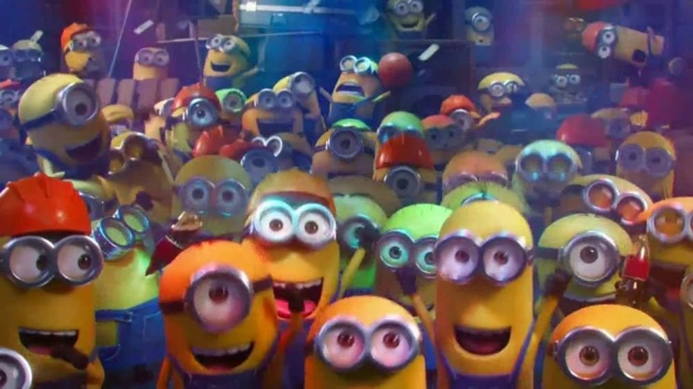 Minions: Rise of Gru Loud and Rowdy  TV Commercial, 'From Minions'