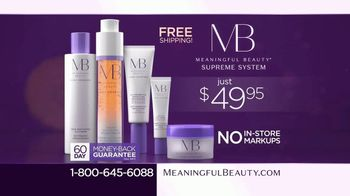 Meaningful Beauty Supreme TV Spot, 'Best Deal Ever: $49.95' Featuring Cindy Crawford, Ellen Pompeo - Thumbnail 7