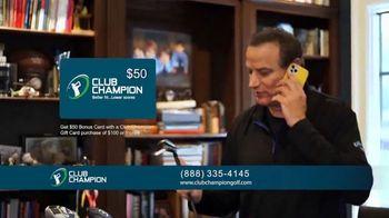 Club Champion TV Spot, 'Club Fitting From Home: $50 Bonus Card'