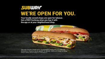 Subway TV Spot, 'Still Providing Food' - Thumbnail 1
