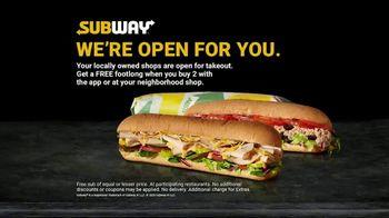 Subway TV Spot, 'Still Providing Food' - Thumbnail 3