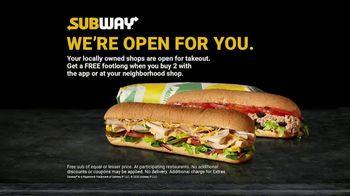 Subway TV Spot, 'Still Providing Food' - Thumbnail 6