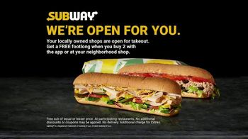 Subway TV Spot, 'Still Providing Food' - Thumbnail 8