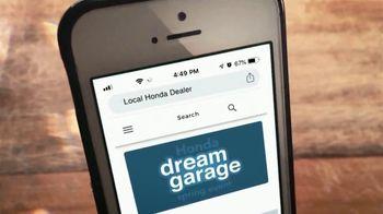 Honda Dream Garage Spring Event TV Spot, 'Uncommon Times' [T1] - Thumbnail 7