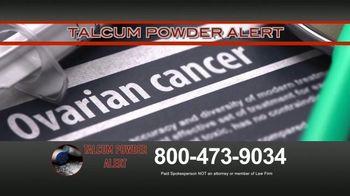 Talcum Powder Alert TV Spot, 'Cancer Diagnosis' - Thumbnail 2