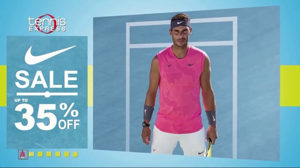 Tennis Express Nike Sale TV Commercial, 'Huge Selection of Shoes and Apparel'