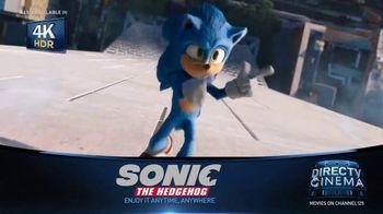 DIRECTV Cinema TV Spot, 'Sonic the Hedgehog'