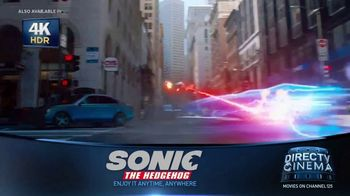 DIRECTV Cinema TV Spot, 'Sonic the Hedgehog' - Thumbnail 4