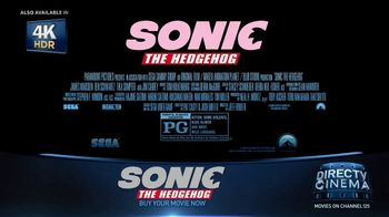 DIRECTV Cinema TV Spot, 'Sonic the Hedgehog' - Thumbnail 7