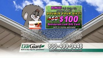 LeafGuard of Colorado Spring Blowout Sale TV Spot, 'Avoid Risk of Injury' - Thumbnail 6