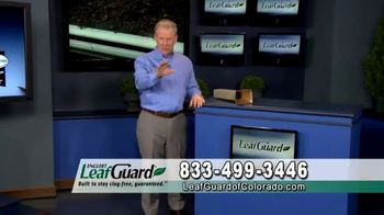 LeafGuard of Colorado Spring Blowout Sale TV Spot, 'Avoid Risk of Injury' - Thumbnail 1