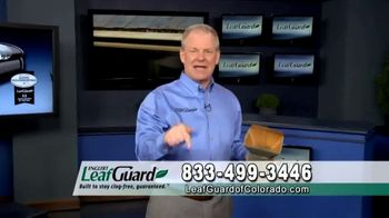 LeafGuard of Colorado Spring Blowout Sale TV Spot, 'Avoid Risk of Injury'