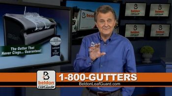Beldon LeafGuard Spring Blowout Sale TV Spot, 'Flexible Installation Schedules'