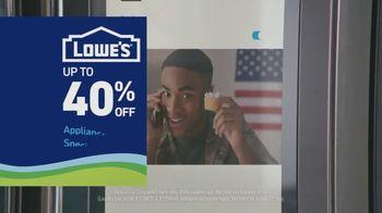 Lowe's TV Spot, 'Essentials: Samsung Laundry Pair' - Thumbnail 4
