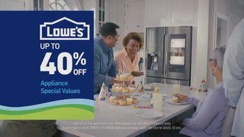 Lowe's TV Spot, 'Essentials: Samsung Laundry Pair' - Thumbnail 5