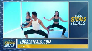 Local Steals & Deals TV Spot, 'obé fitness' Featuring Lisa Robertson - Thumbnail 4