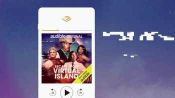 Audible Inc. TV Spot, 'Escape From Virtual Island' Song by VideoHelper' - Thumbnail 8