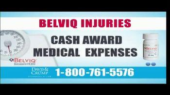Davis & Crump, P.C. TV Spot, 'BELVIQ: Cancer' - Thumbnail 4