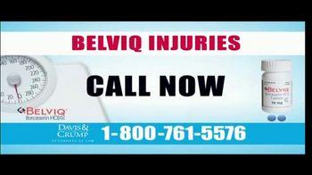Davis & Crump, P.C. TV Spot, 'BELVIQ: Cancer' - Thumbnail 5