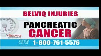 Davis & Crump, P.C. TV Spot, 'BELVIQ: Cancer' - Thumbnail 6