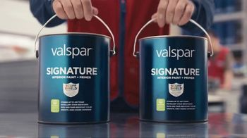 Lowe\'s Spring Project Savings TV Spot, \'Making Stains History: Valspar Signature Paints\'