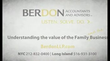 Berdon LLP TV Spot, 'What Matters Most' - Thumbnail 7