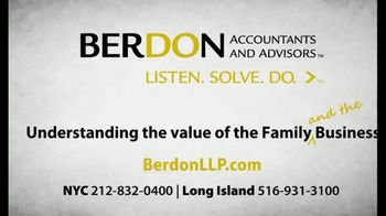 Berdon LLP TV Spot, 'What Matters Most' - Thumbnail 8