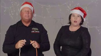 One Hour Heating & Air Conditioning Light of Hope Challenge TV Spot, 'Christmas Lights' - Thumbnail 1