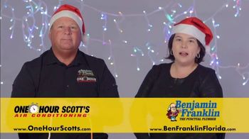 One Hour Heating & Air Conditioning Light of Hope Challenge TV Spot, 'Christmas Lights' - Thumbnail 10