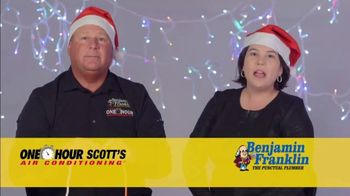 One Hour Heating & Air Conditioning Light of Hope Challenge TV Spot, 'Christmas Lights' - Thumbnail 7