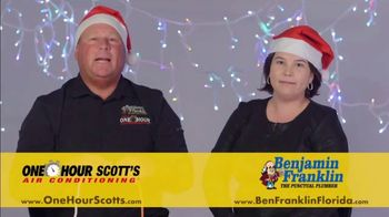 One Hour Heating & Air Conditioning Light of Hope Challenge TV Spot, 'Christmas Lights' - Thumbnail 9