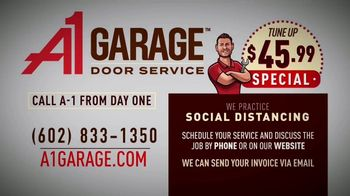 A1 Garage Door Service Tune Up Special TV Spot, 'Open for Business' - Thumbnail 5