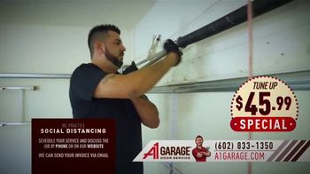 A1 Garage Door Service Tune Up Special TV Spot, 'Open for Business'