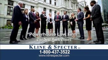 Kline & Specter TV Spot, 'Big Verdicts' - Thumbnail 5