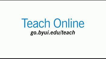 Brigham Young University-Idaho TV Spot, 'Teach Online' - Thumbnail 9