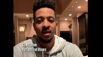 NBA Cares TV Spot, 'NBA Together' Ft. John Collins, Andre Drummond and C.J. McCollum - Thumbnail 1