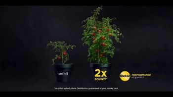 Miracle-Gro Performance Organics TV Spot, 'Twice the Bounty: Order Online'