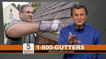 Beldon LeafGuard $99 Installation Sale TV Spot, 'Risking a Fall'