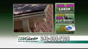 LeafGuard of DC Spring Blowout Sale TV Spot, 'Messy Spring Chore' - Thumbnail 8