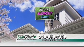 LeafGuard of DC Spring Blowout Sale TV Spot, 'Messy Spring Chore' - Thumbnail 2