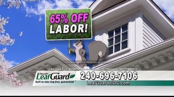 LeafGuard of DC Spring Blowout Sale TV Spot, 'Messy Spring Chore' - Thumbnail 3